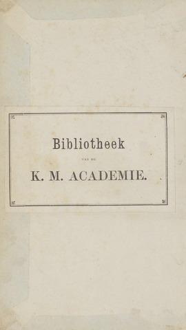 Militair Tijdschrift 1871-01-01
