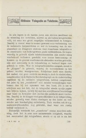 Indisch Militair Tijdschrift 1912-08-01