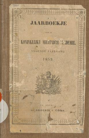 Almanak der Koninklijke Militaire Akademie 1859-01-01