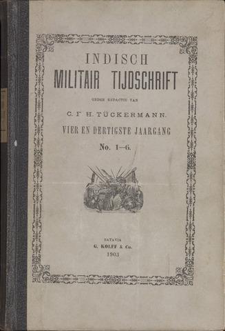 Indisch Militair Tijdschrift 1903
