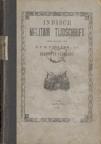 Indisch Militair Tijdschrift 1899