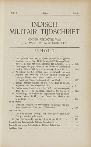 Indisch Militair Tijdschrift 1918-03-01