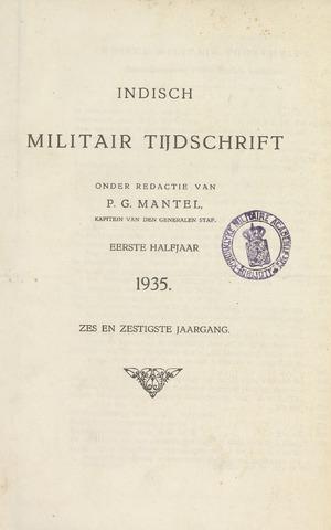 Indisch Militair Tijdschrift 1935