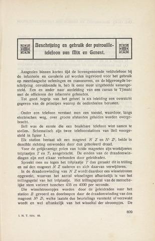 Indisch Militair Tijdschrift 1914-10-01