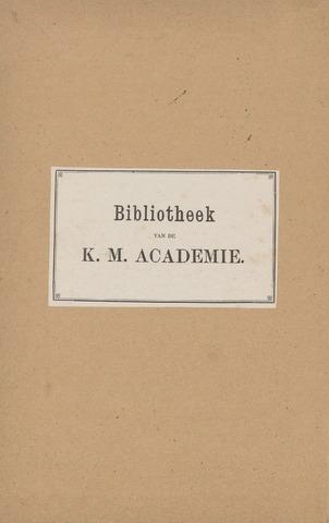 Indisch Militair Tijdschrift 1898