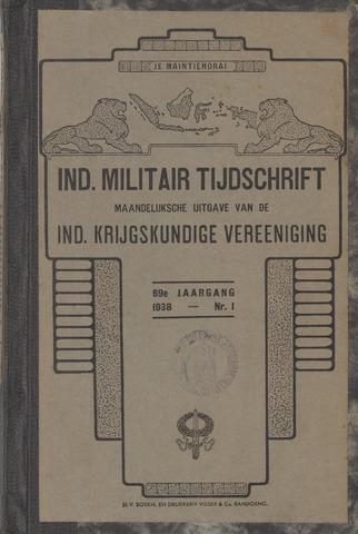 Indisch Militair Tijdschrift 1938