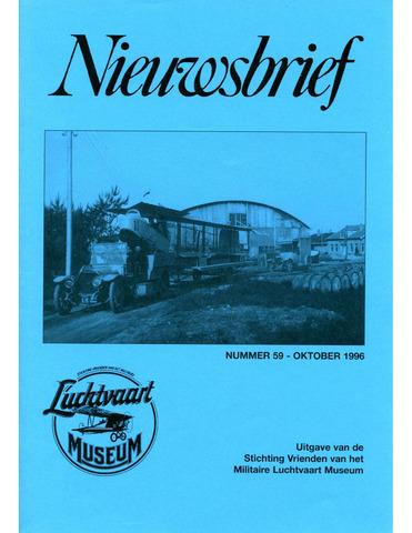 Nieuwsbrief Militaire Luchtvaart Museum 1996-10-01