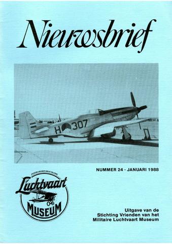 Nieuwsbrief Militaire Luchtvaart Museum 1988-01-01
