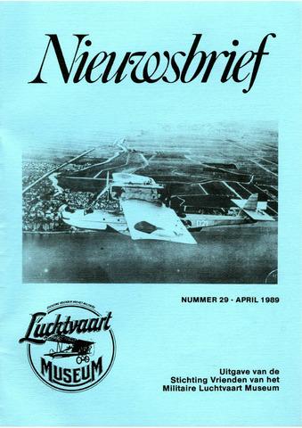 Nieuwsbrief Militaire Luchtvaart Museum 1989-04-01