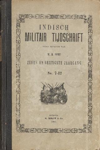 Indisch Militair Tijdschrift 1906-07-01