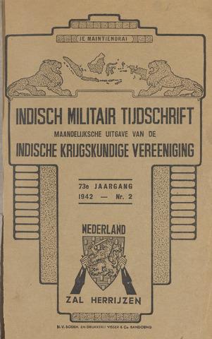 Indisch Militair Tijdschrift 1942-02-01