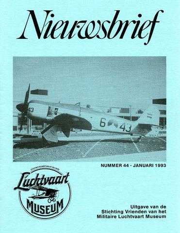 Nieuwsbrief Militaire Luchtvaart Museum 1993