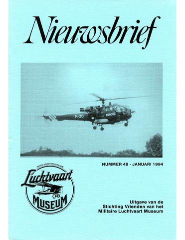 Nieuwsbrief Militaire Luchtvaart Museum 1994-01-01