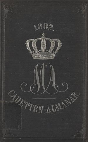 Almanak der Koninklijke Militaire Akademie 1882-01-01