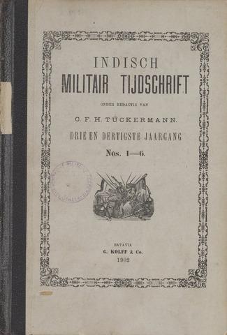 Indisch Militair Tijdschrift 1902