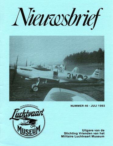 Nieuwsbrief Militaire Luchtvaart Museum 1993-07-01