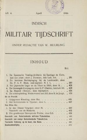 Indisch Militair Tijdschrift 1915-04-01