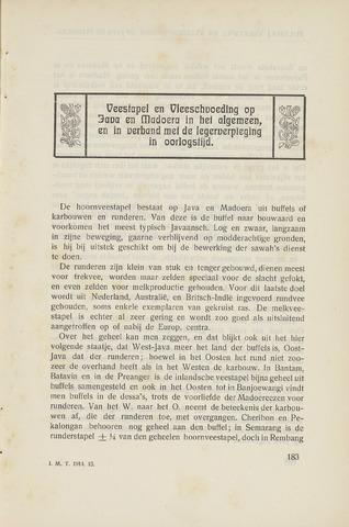 Indisch Militair Tijdschrift 1914-03-01