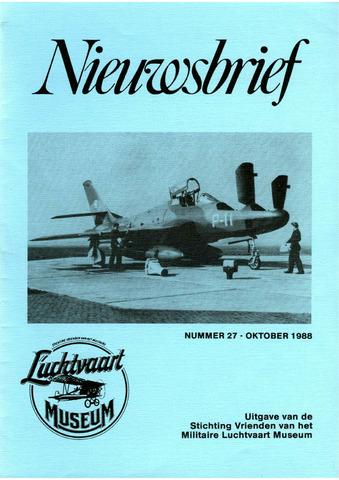 Nieuwsbrief Militaire Luchtvaart Museum 1988-10-01