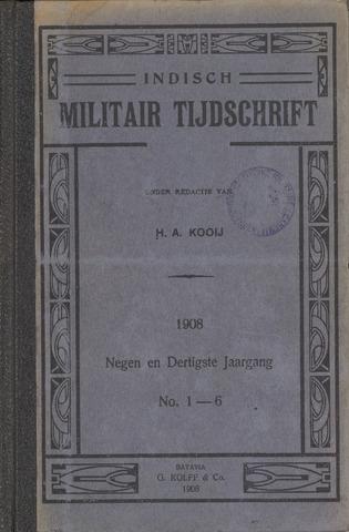 Indisch Militair Tijdschrift 1908