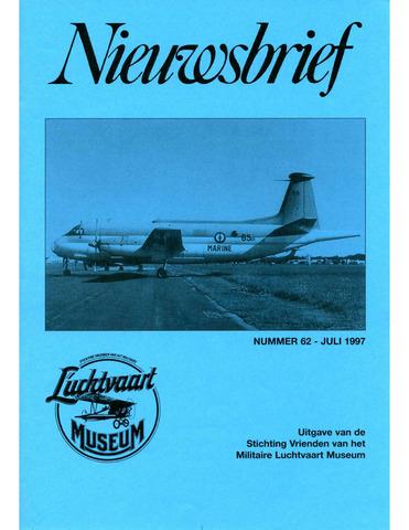 Nieuwsbrief Militaire Luchtvaart Museum 1997-07-01