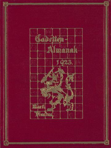 Almanak der Koninklijke Militaire Akademie 1923-01-01