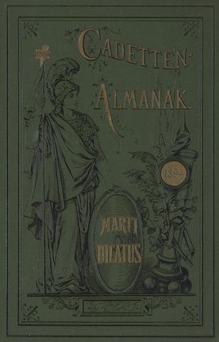 Almanak der Koninklijke Militaire Akademie 1894