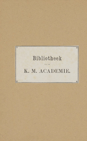 Indisch Militair Tijdschrift 1884