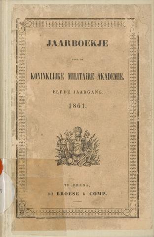 Almanak der Koninklijke Militaire Akademie 1861-01-01