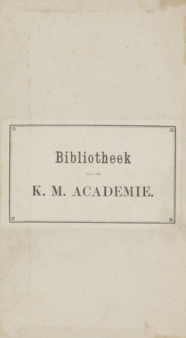 Militair Tijdschrift 1873-01-01