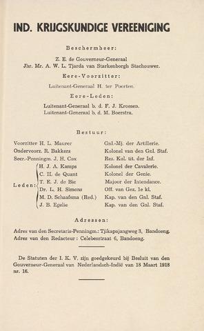 Indisch Militair Tijdschrift 1941-12-01