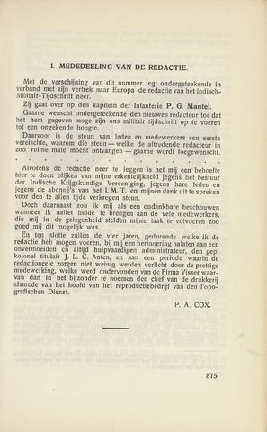 Indisch Militair Tijdschrift 1932-11-01