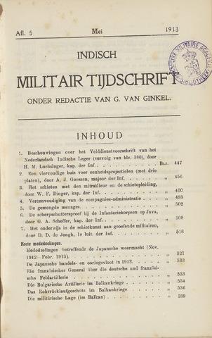 Indisch Militair Tijdschrift 1913-05-01