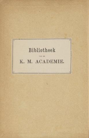 Indisch Militair Tijdschrift 1895