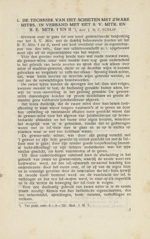 Indisch Militair Tijdschrift 1922-06-01