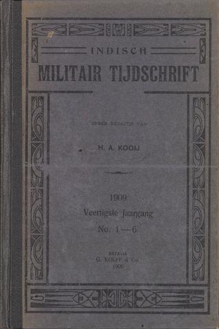 Indisch Militair Tijdschrift 1909-01-01