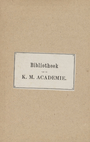 Indisch Militair Tijdschrift 1892