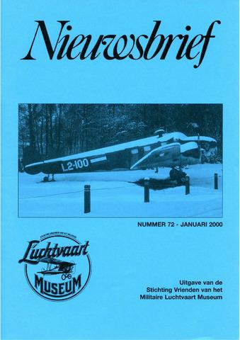 Nieuwsbrief Militaire Luchtvaart Museum 2000