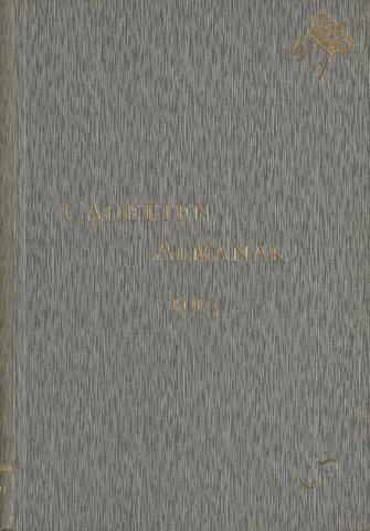 Almanak der Koninklijke Militaire Akademie 1913-01-01