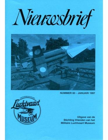 Nieuwsbrief Militaire Luchtvaart Museum 1997