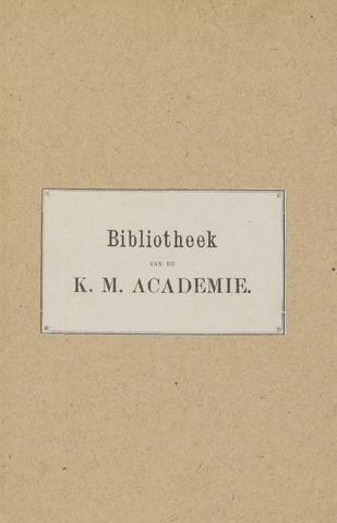 Indisch Militair Tijdschrift 1891
