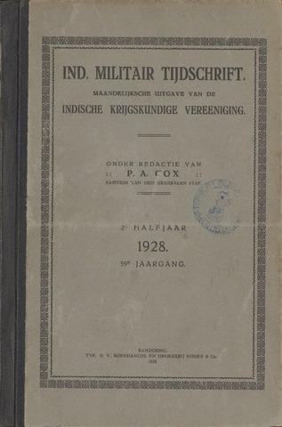 Indisch Militair Tijdschrift 1927-07-01