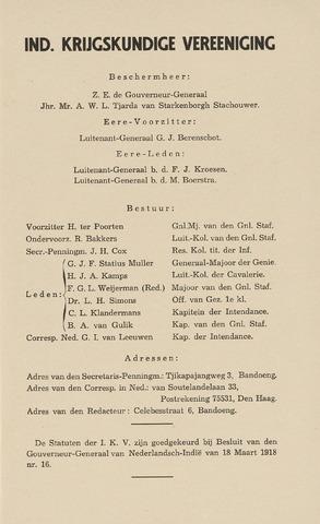 Indisch Militair Tijdschrift 1939-12-01