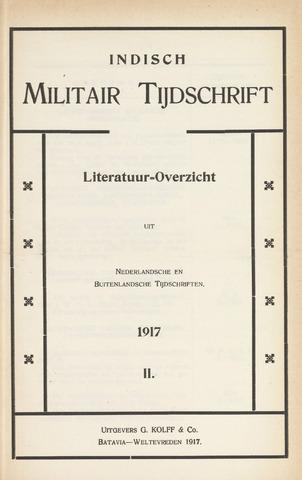 Indisch Militair Tijdschrift 1917-06-01