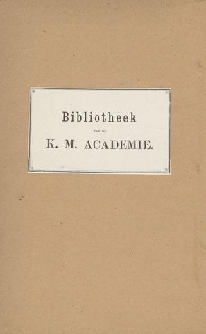Indisch Militair Tijdschrift 1897-01-01