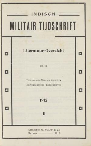 Indisch Militair Tijdschrift 1912-04-01