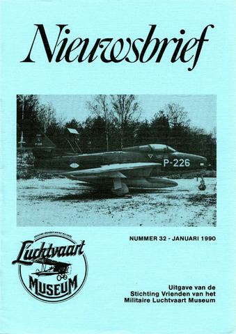 Nieuwsbrief Militaire Luchtvaart Museum 1990