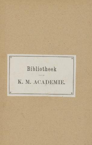 Indisch Militair Tijdschrift 1881-01-01