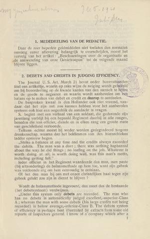 Indisch Militair Tijdschrift 1921-07-01
