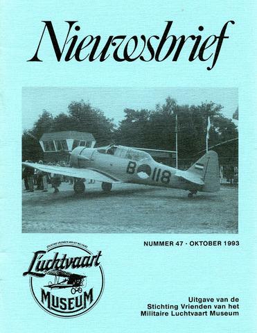 Nieuwsbrief Militaire Luchtvaart Museum 1993-10-01